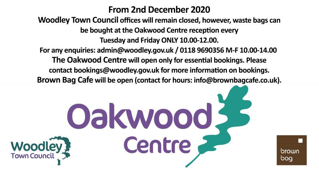 oakwood centre woodley